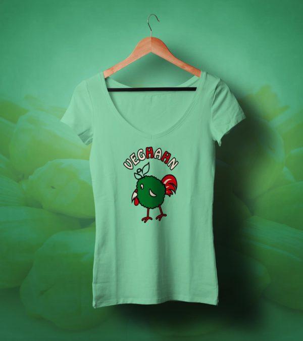 veghahn fleischersatz vegan t-shirt gr
